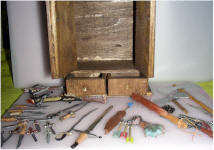 Grimm Weapons Cabinet drawers