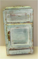 Distressed Ice Box by Grace