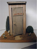 Jim's Outhouse by Grace