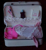 Bridal Luggage by Betty's Wooden Miniatures
