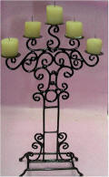 EIWF551 Candle Holder w/candles