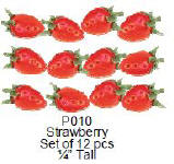 P010 Strawberries 12,pcs