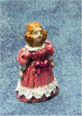 Victorian Doll in Pink