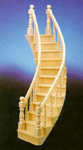 CLA70221 Curved Left Stairs