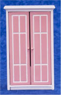 T5346 Pink & White Armoire