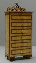 QS113 French Tall Dresser