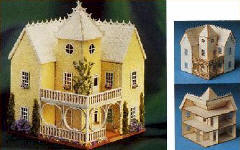 DDH-100 VICTORIAN MANSION KIT