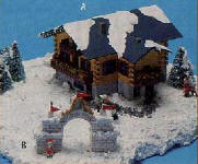 LT-805 ALPINE CHRISTMAS HOUSE KIT
