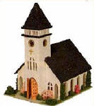 LTC-800 COUNTRY CHURCH KIT
