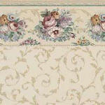 IB 0539a Floral Scroll - Floral