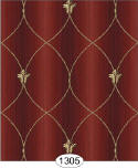 IB 1305 Satin Grillwork - Red