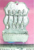 S-51-A Spoon Rack W/ 4 Spoons