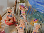 Beach Scene by Grace Sun Bathers