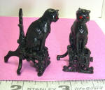 Cat Andirons by Grace