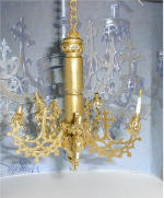 Chandelier for a Medieval Bedroom Scene by Grace