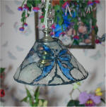 The Butterfly Garden by Grace  Butterfly Landing light fixture