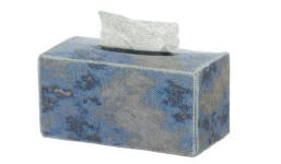 TIN1037 Silver tissue box