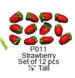 P011 Strawberries, 12 pcs