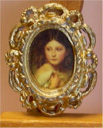 A Young Girl Called Princess Charlotte, Franz Xaver Winterhalter (1 of 2)  in Gold Frame