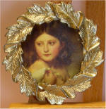 A Young Girl Called Princess Charlotte, Franz Xaver Winterhalter (2 of 2)  in Gold Leaf Frame