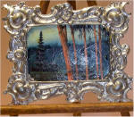 Bamboo Forest in Lg. Victorian Port Frame