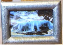 S39 Rough Water in Silver Frame