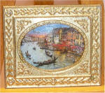 Dreams of Venice in Gold Victorian Picture Frame