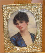 Valeria by William Clarke Wontner in Gold Victorian Picture Frame