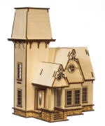Sadie Victorian Cottage Dollhouse Quarter Scale