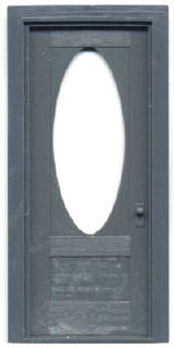 3637 Door w/Oval Light