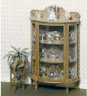 CB2106 China Cabinet & Jardinière Stand