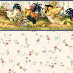 IB 450A Hen House-Blue Floral