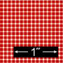 BP HGG102 GINGHAM, RED